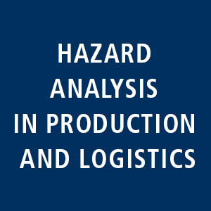 Hazard analysis in production and logistics: Implementation of Infection protection standarts along the production.