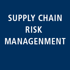 Supply chain risk management: Evaluation of your supply chains, derivation of risks and development of a sustainable concept.