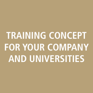training concept for your company and universities